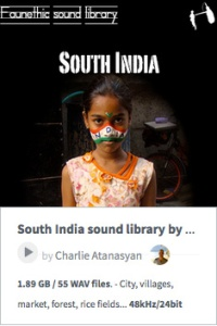 SouthIndia_SoundLibrary